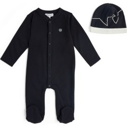Emporio Armani Kids All-In-One and Beanie (1-12 Months) found on Bargain Bro UK from harrods.com