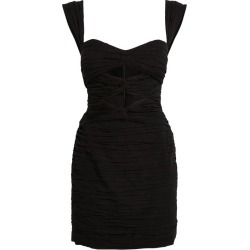 Magda Butrym Ruched Cut-Out Mini Dress found on MODAPINS from harrods.com for USD $1339.60