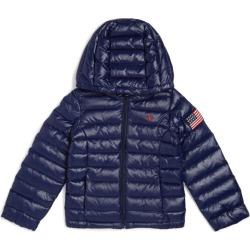Ralph Lauren Kids Flag Appliqué Puffer Jacket (2-4 Years) found on Bargain Bro UK from harrods.com