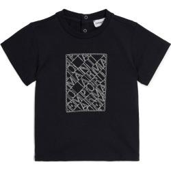 Emporio Armani Kids Cotton Logo T-Shirt (6-36 Months) found on Bargain Bro UK from harrods.com