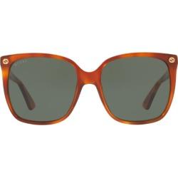 Gucci Tortoiseshell Print Sunglasses found on MODAPINS from harrods.com for USD $195.59