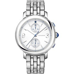 Boucheron Stainless Steel and Sapphire Epure Classic Creation Watch 43mm found on MODAPINS from harrods.com for USD $6458.59