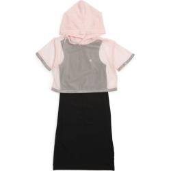 Calvin Klein Kids Layered Mesh Dress (4-16 Years) found on Bargain Bro UK from harrods.com