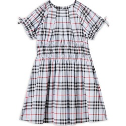 Burberry Kids Ruched Vintage Check Dress (3-14 years) found on Bargain Bro UK from harrods.com