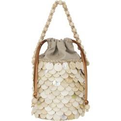Aranaz Shell Scales Mini Bucket Bag found on MODAPINS from harrods.com for USD $365.54