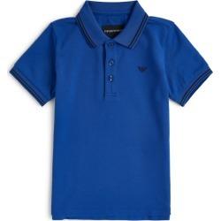 Emporio Armani Kids Eagle Logo Polo Shirt (4-16 Years) found on Bargain Bro UK from harrods.com