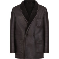 Dolce & Gabbana Shearling Tailored Jacket found on Bargain Bro UK from harrods.com