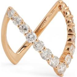 Anita Ko Rose Gold Diamond V Ring found on Bargain Bro India from harrods (us) for $9137.00