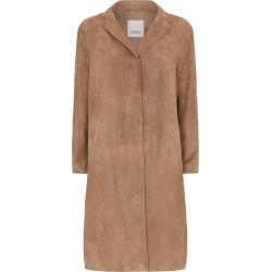 Max Mara Suede Duster Coat found on Bargain Bro UK from harrods.com