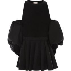 Alexander McQueen Puff-Sleeved Cut-Out Top found on Bargain Bro UK from harrods.com