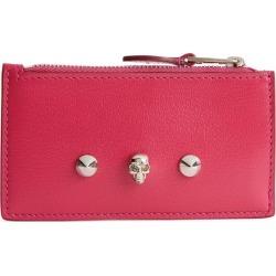Alexander McQueen Skull Zip Card Holder found on Bargain Bro UK from harrods.com