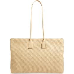 Bottega Veneta Leather Intrecciato Maxi Tote Bag found on Bargain Bro UK from harrods.com