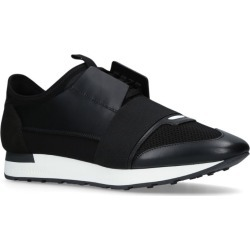 Balenciaga Leather Race Runner Sneakers found on Bargain Bro UK from harrods.com