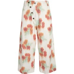 Kenzo Floral Print Trousers found on Bargain Bro UK from harrods.com