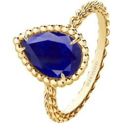 Boucheron Yellow Gold Lapis Lazuli Serpent Bohème Ring found on MODAPINS from harrods.com for USD $1827.90