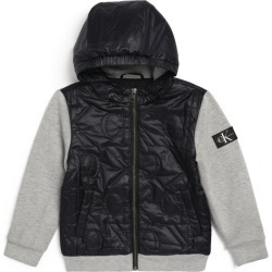Calvin Klein Kids Monogram Quilt Hooded Jacket found on Bargain Bro India from Harrods Asia-Pacific for $137.57