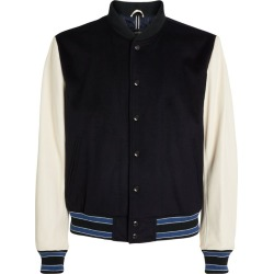 Boss Leather-Detail Bomber Jacket found on GamingScroll.com from Harrods Asia-Pacific for $666.60