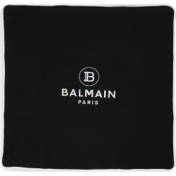 Balmain Kids Metallic Logo Blanket found on Bargain Bro UK from harrods.com