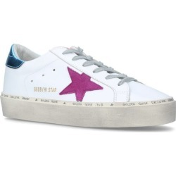 Golden Goose Leather Hi Star Sneakers found on Bargain Bro UK from harrods.com