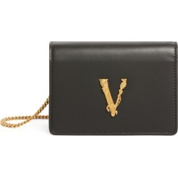 Versace Mini Leather Virtus Chain Wallet found on Bargain Bro UK from harrods.com