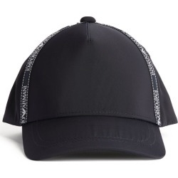 Emporio Armani Kids Logo Tape Baseball Cap found on Bargain Bro UK from harrods.com