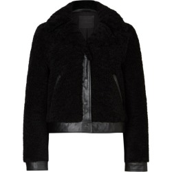 AllSaints Madsen Shearling Jacket found on Bargain Bro UK from harrods.com