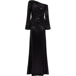 Badgley Mischka One-Shoulder Sequin Gown found on Bargain Bro Philippines from harrods (us) for $1143.00