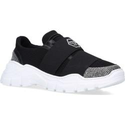 Philipp Plein Junior Crystal Detail Runner Sneakers found on Bargain Bro UK from harrods.com