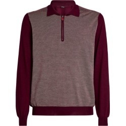 Kiton Collared Diamond-Weave Sweater found on MODAPINS from Harrods Asia-Pacific for USD $2624.97