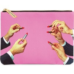 Seletti x TOILETPAPER Lipsticks Cosmetic Bag found on Makeup Collection from harrods.com for GBP 22.74