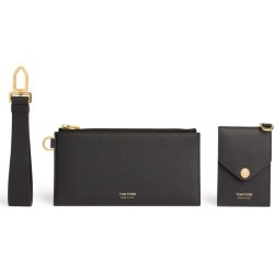Tom Ford Leather Wristlet Pouch with Card Holder found on Bargain Bro UK from harrods.com