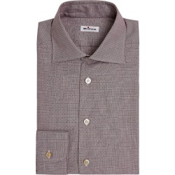 Kiton Micro-Check Cotton Shirt found on MODAPINS from Harrods Asia-Pacific for USD $557.58