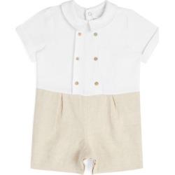 Tartine Et Chocolat Linen Bodysuit (3-18 Months) found on Bargain Bro UK from harrods.com