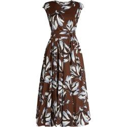 Max Mara Sleeveless Floral Cotton Midi Dress found on Bargain Bro UK from harrods.com