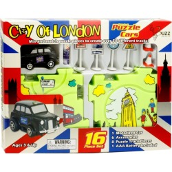 Buzz London Taxi Puzzle Car Set found on Bargain Bro from harrods.com for £20