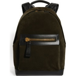 Tom Ford Suede Buckley Backpack found on Bargain Bro UK from harrods.com