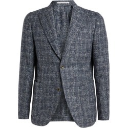 Eleventy Check Alpaca-Blend Jacket found on MODAPINS from harrods (us) for USD $1426.00