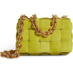 Bottega Veneta Suede Chain Cassette Cross-Body Bag found on Bargain Bro UK from harrods.com