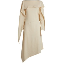 JW Anderson Draped Asymmetric Dress found on MODAPINS from harrods.com for USD $485.16