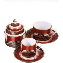 Etro Porcelain Hyat Coffee Cup and Saucer found on Bargain Bro UK from harrods.com