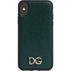 Dolce & Gabbana Leather iPhone X/XS Case found on Bargain Bro UK from harrods.com