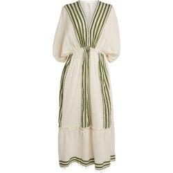 Lemlem Eshe V-Neck Midi Dress found on Bargain Bro India from Harrods Asia-Pacific for $400.74