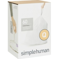 Simplehuman Code Q Bin Liners (60 Liners) found on Bargain Bro UK from harrods.com