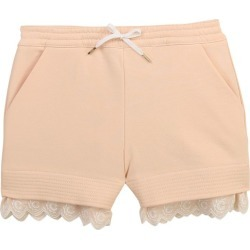 Chloé Kids Cotton-Rich Scallop-Trim Shorts (2-14 Years) found on Bargain Bro UK from harrods.com