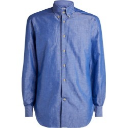 Kiton Cotton-Linen Button-Down Shirt found on Bargain Bro India from Harrods Asia-Pacific for $808.35
