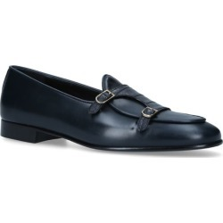 Edhen Milano Crocodile-Trim Leather Brera Loafers found on MODAPINS from harrods.com for USD $1188.49