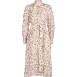 Chloé Silk Floral Print Midi Dress found on Bargain Bro from harrods.com for £2388