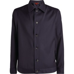 Barena Wool Striped Overshirt found on MODAPINS from harrods.com for USD $591.94
