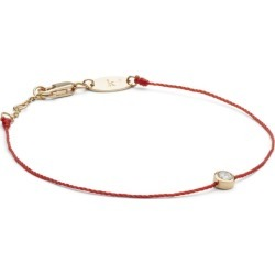 Redline Rose Gold And Diamond Pure Bracelet With Red Thread found on Bargain Bro from Harrods Asia-Pacific for USD $492.18