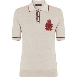 Dolce & Gabbana Embroidered Polo Shirt found on Bargain Bro UK from harrods.com